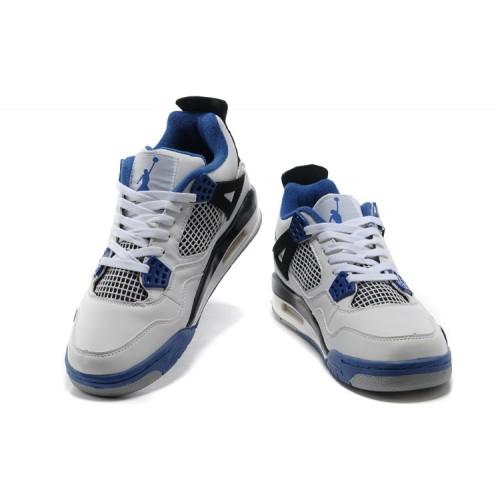 air jordan 4 retro blanc et bleu