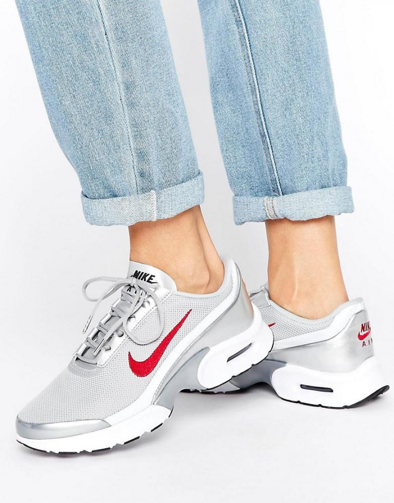 air max jewell gris et rouge