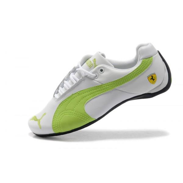 puma femme chaussures verte